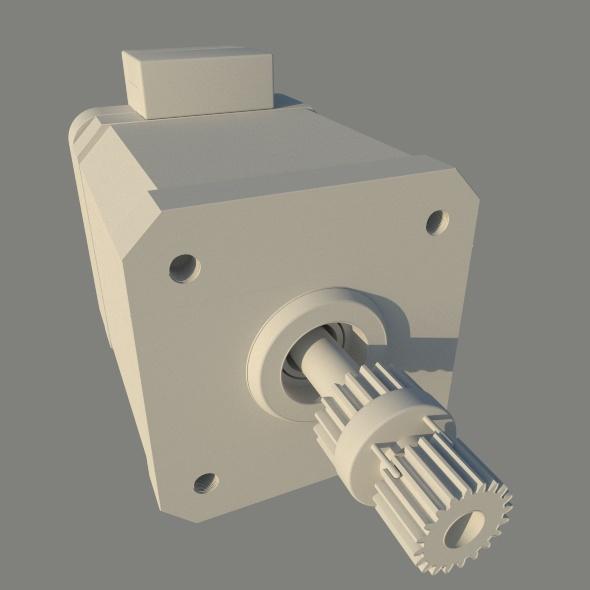 Stepper Motor - 3DOcean Item for Sale