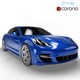 Porsche Panamera Turbo (6 Colors) - 3DOcean Item for Sale