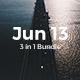 3 in 1 Premium - Jun 13 Bundle Keynote Template