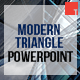 Modern Triangle Powerpoint Template - GraphicRiver Item for Sale