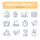 Universal Doodle Icons vol.4 - GraphicRiver Item for Sale