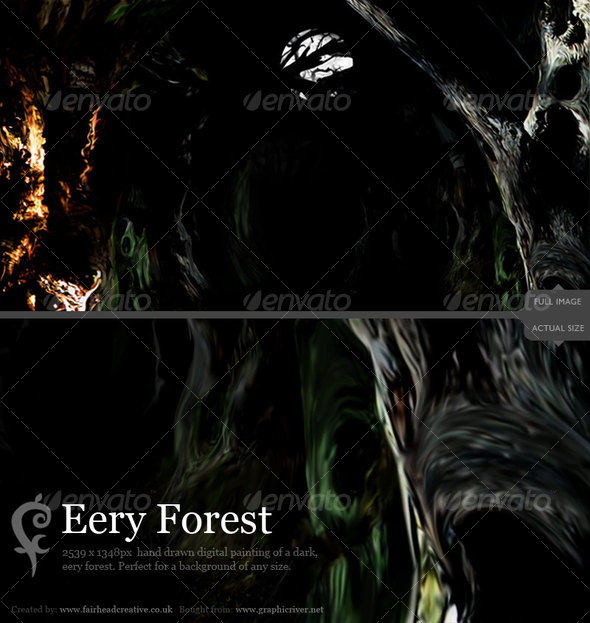 Eery Forest - Backgrounds Graphics