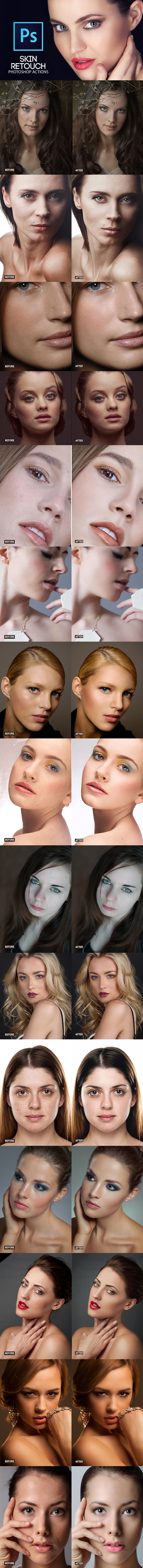 GraphicRiver Professional Skin Retouching 21177578