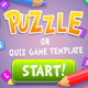 Puzzle or Quiz Game Template - GraphicRiver Item for Sale