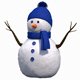 Cute Snow Man - 3DOcean Item for Sale