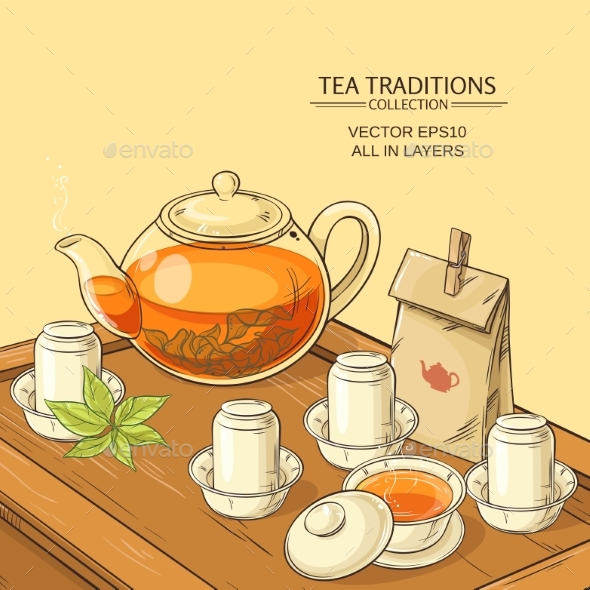 GraphicRiver Tea Ceremony 21177776
