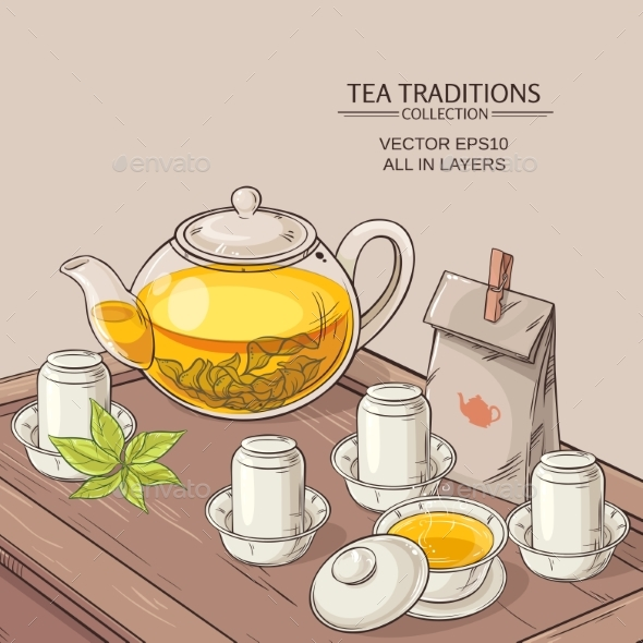 Tea Ceremony - Food Objects