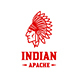Apache Indian Logo - GraphicRiver Item for Sale