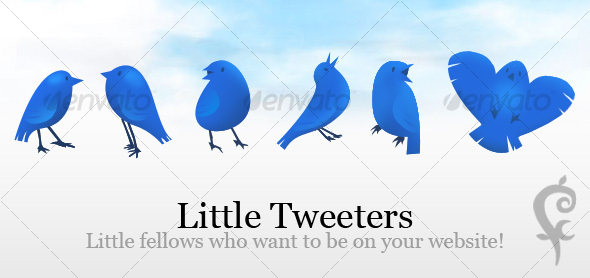Little Tweeters - Decorative Graphics