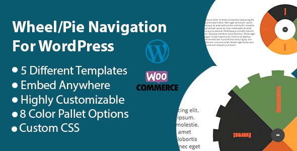Wheel Navigation/Tabs For Wordpress - CodeCanyon Item for Sale