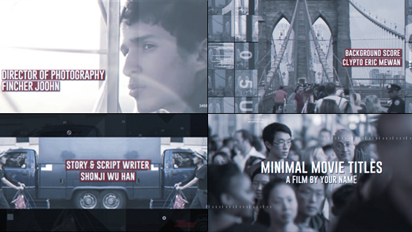 VideoHive Minimal Movie Titles 21178265