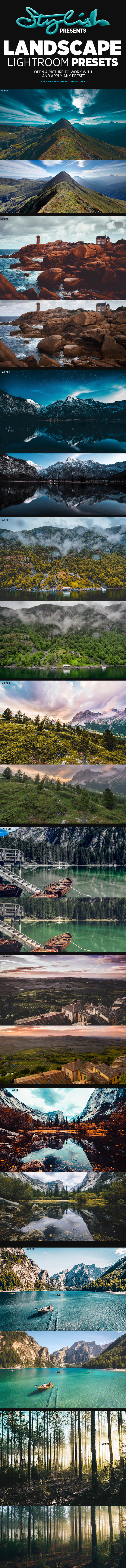 GraphicRiver Landscape Lightroom Presets 21178490