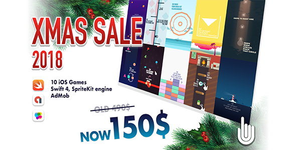 Download Source code              XMAS SALE 2018 10 iOS GAMES            nulled nulled version