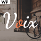 Voix - Personal Blogging WordPress Theme for Storytellers - ThemeForest Item for Sale