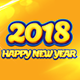 New Year Facebook Cover 2018 - GraphicRiver Item for Sale