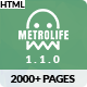 Metrolife - Responsive Multipurpose HTML5 Template - ThemeForest Item for Sale