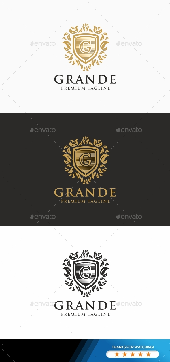 GraphicRiver Grande Logo Template 21178817