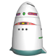 Security Robot - 3DOcean Item for Sale