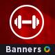 Fitness Banner Set