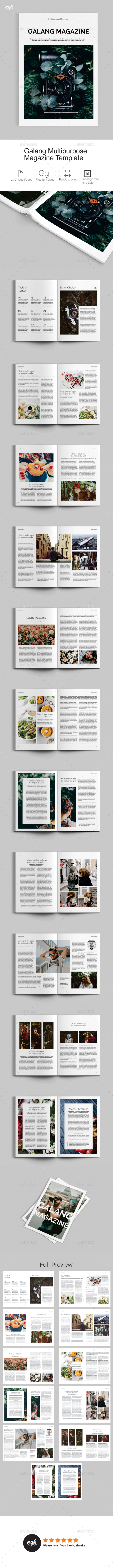 GraphicRiver Galang Magazine Template 21179232