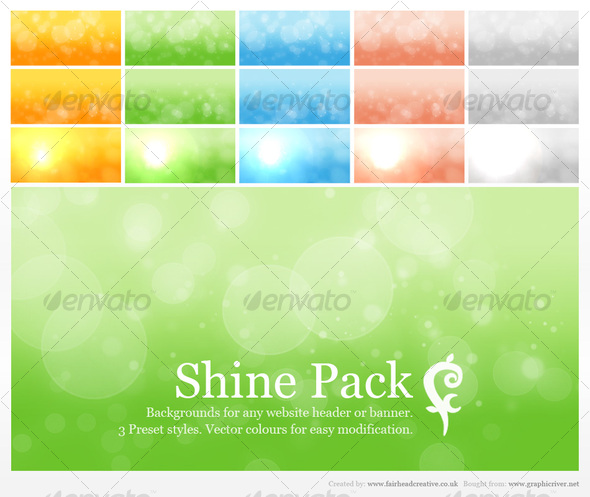 FC Shine Pack - Backgrounds Graphics