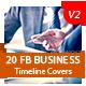 20 FB Business Timeline Covers Bundle V2 - AR