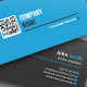 Clean QR Business Card - GraphicRiver Item for Sale