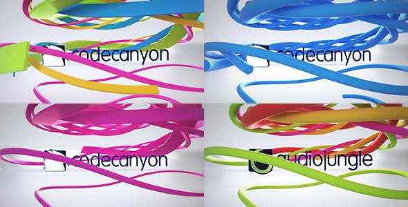 VideoHive Clean Ribbon Logo Reveal 21179727