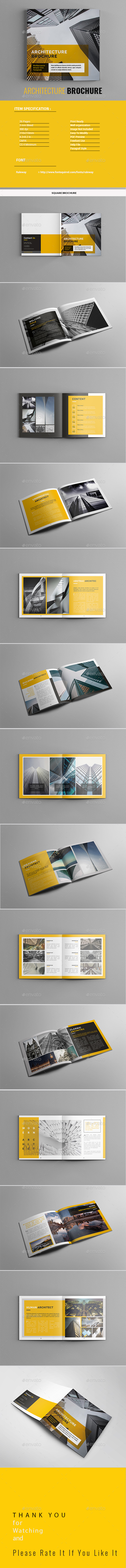 GraphicRiver Architecture Brochure 21179734