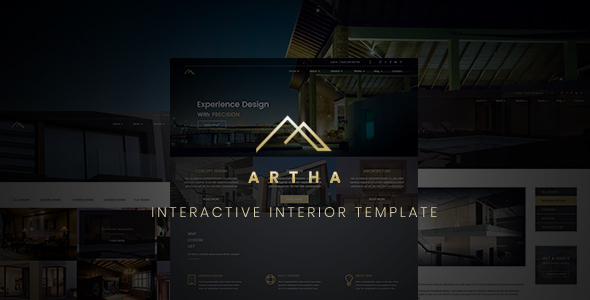 Image of Artha Interactive Interior Template
