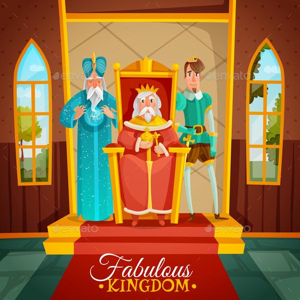 Kingdom Cartoon Illustration - Miscellaneous Vectors