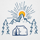 Mountain Camp Logo Template - GraphicRiver Item for Sale