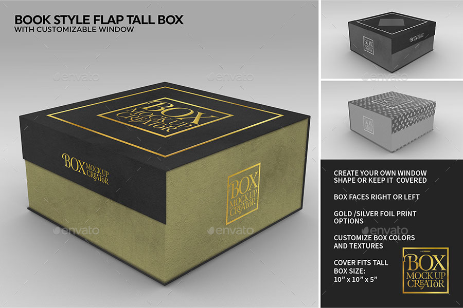 Box Packaging Mockup Creator By Incybautista Graphicriver