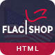 Flag Shop - Political Ecommerce Template - ThemeForest Item for Sale