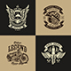 Motorcycle Club Illustration Vol.3 - GraphicRiver Item for Sale