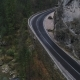 Lonely Road in Mountains - VideoHive Item for Sale