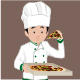 Pizza Crew Cartoon - GraphicRiver Item for Sale