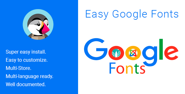 Easy Google Fonts - CodeCanyon Item for Sale