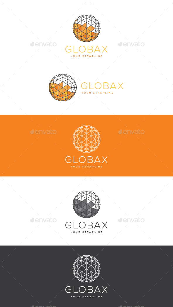 Globax Logo - 3d Abstract