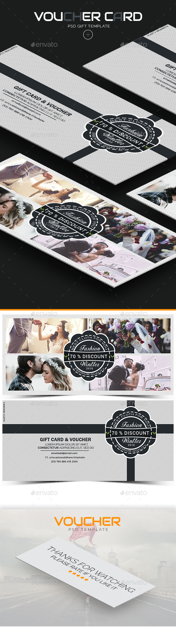GraphicRiver Voucher Card 21181391