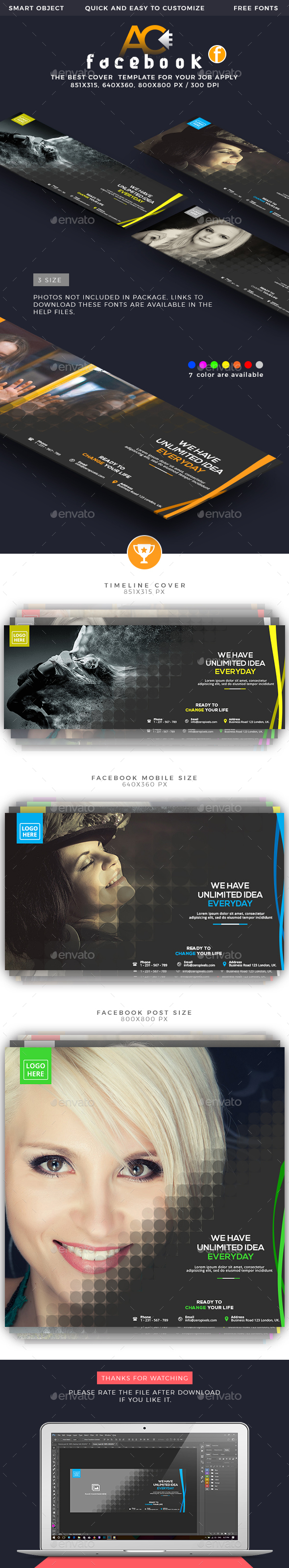 GraphicRiver Facebook Cover 21181447