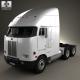 Peterbilt 372 Tractor Truck 1988
