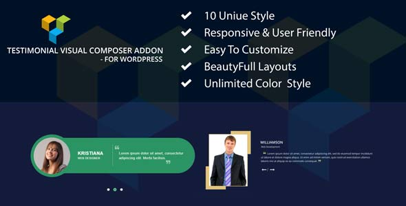 CodeCanyon Testimonial Visual Composer addon for WordPress 21139635
