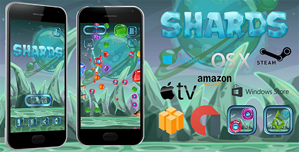CodeCanyon Shards BUNDLE 21161944