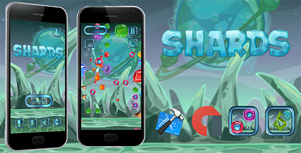 Download Source code              Shards iOS XCODE + Admob            nulled nulled version