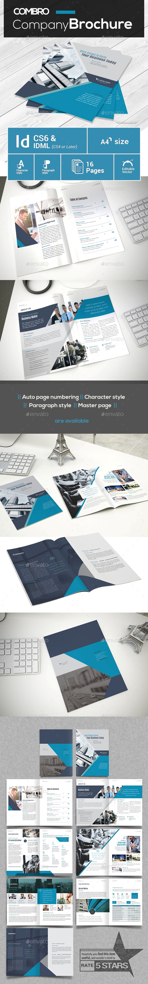 GraphicRiver Modern Company Profile 21181822