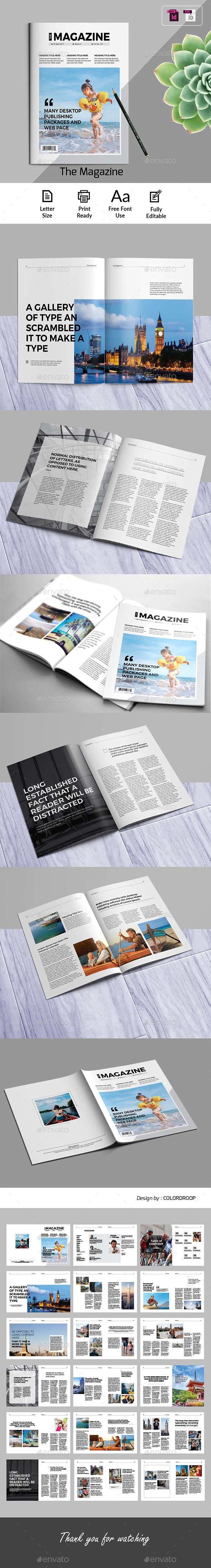 GraphicRiver The Magazine 21181937