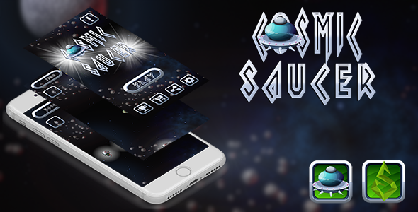 Download Source code              Cosmic Saucer iOS XCODE + Admob            nulled nulled version