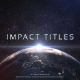 Impact Titles - VideoHive Item for Sale