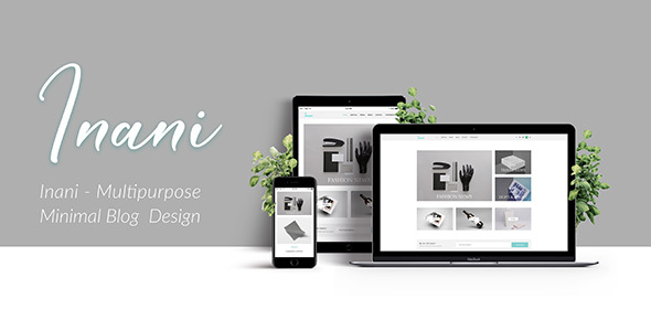 Download Inani Blog - Multipurpose Minimal Blog PSD Template            nulled nulled version